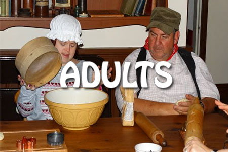 Adults tile
